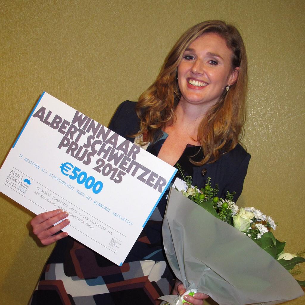 Vera van Rijn- winnaar 2015 ASP